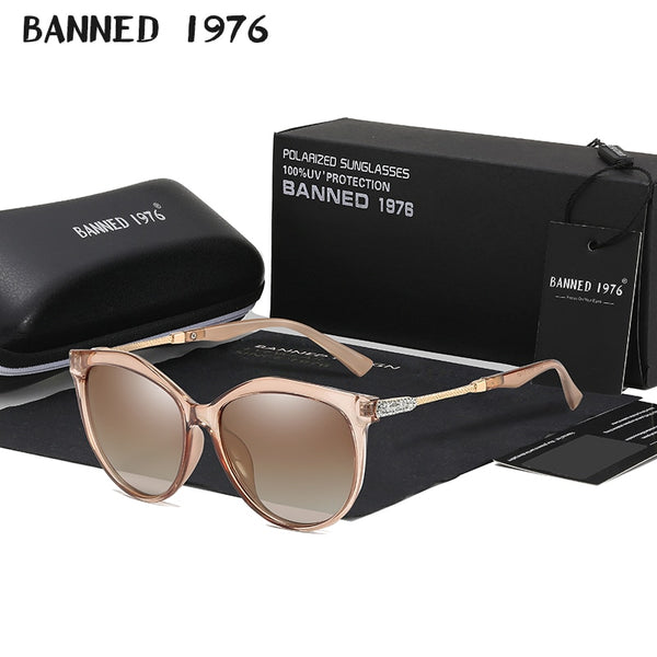 Luxury HD Polarized Women's Fashion Sunglasses
