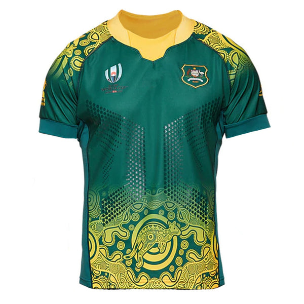 2019 World Cup Wallabies Replica Rugby Jerseys
