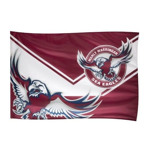 3ft x 5ft3 x5ft  NRL Manly Sea Eagles Game Day Flag  print Polyester banner flag Size 150*90cm