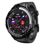 LOKMAT LOK 02 4G LTE 1+16G Dual HD Camera Dual GPS Positioning Smart Watch Phone 1.39'' AMOLED Screen Optical Heart Rate Monitor Multiple Sports Modes Fitness Smart Bracelet Fitness Wellness