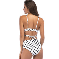 Cikini 2019 Summer bikini high waist point dots