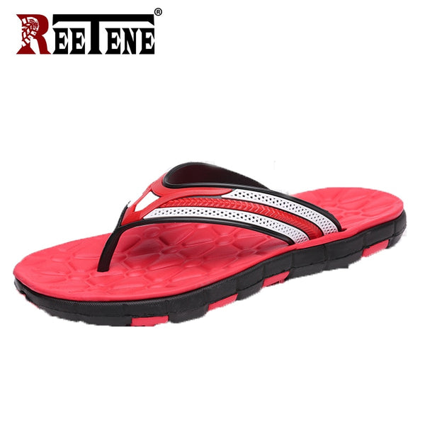 REETENE Cheap Summer Men Flip Flops Fashion Men Shoes High Quality Men Casual PVC EVA Slippers Beach Sandals Male Zapatos Hombre