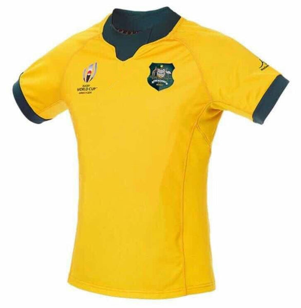 Australia Wallabies RWC 2019 Replica Jersey size S-5XL
