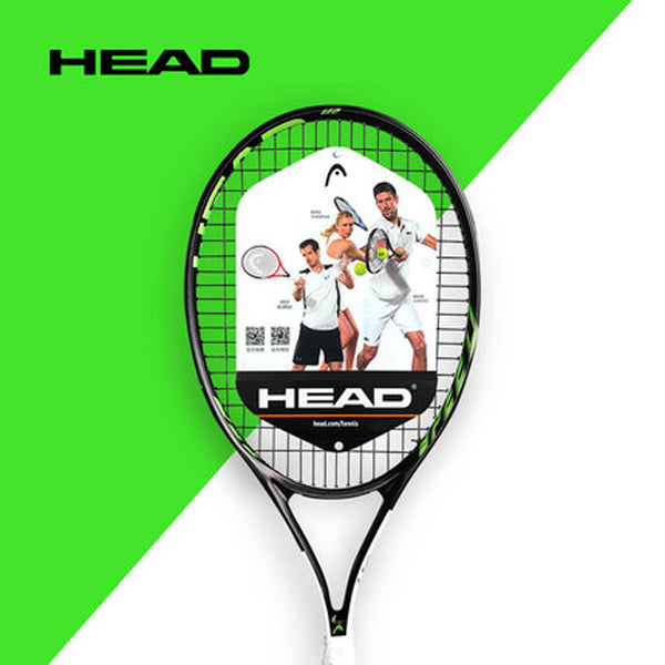 HEAD Tennis Racket Carbon Tennis Racquet With Bag Overgrip String Tennis Racquete HEAD Grip Size 414