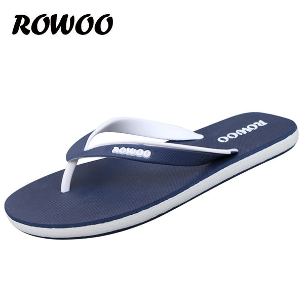 Summer Fashion Men Flip Flop Outdoor Male Sandals Shoes High Quality Flat Anti-skidding Slide Casual Slippers Plus size 46