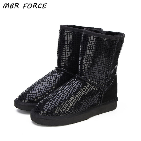 UGG Boots MBR FORCE Mid Calf Black