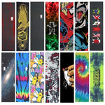 "Professional Pro Skateboard Grip tape 9x33"" Multi Graphic Griptapes For Scooter Penny Board Sandpaper Skate Deck Grips"