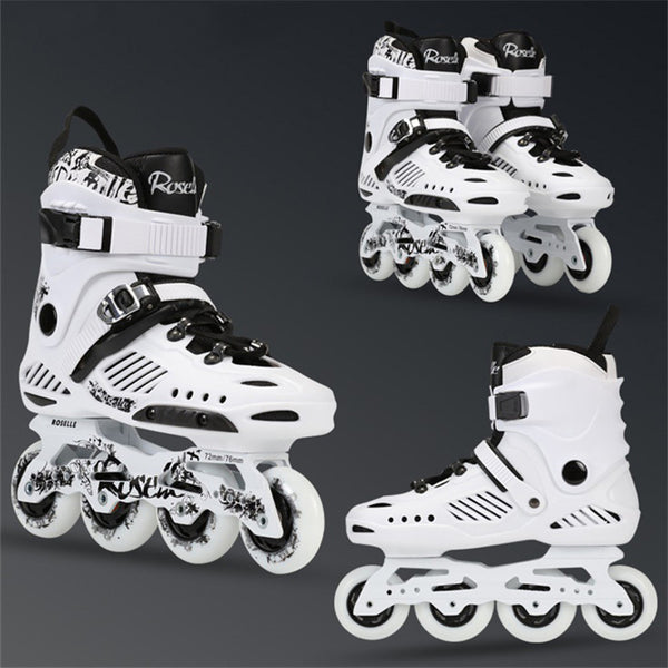 Rollerblade Roller Skates Men Women Inline Skating Shoes High Quality Sliding Freestyle Skating Patins 4 Wheels Professional