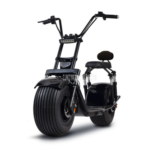 Wide Big Wheel Mini Electric Bicycle Electric Motorcycle Scooter Off Road Driving