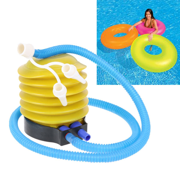 Portable Foot balloon Air Pump Inflate hand push Air Pump Swimming pool aeration Equipment Party Wedding Balloon Inflator Pump