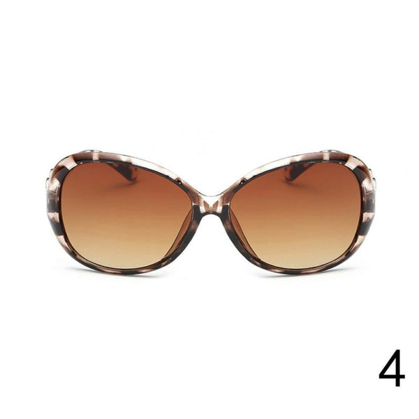 Eyewear Retro Oversized Women Fashion Beach Sunglasses Glasses