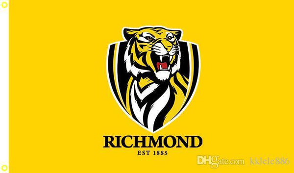 Richmond Tigers Flag 90 x 150 cm Polyester AFL Australian Aussie