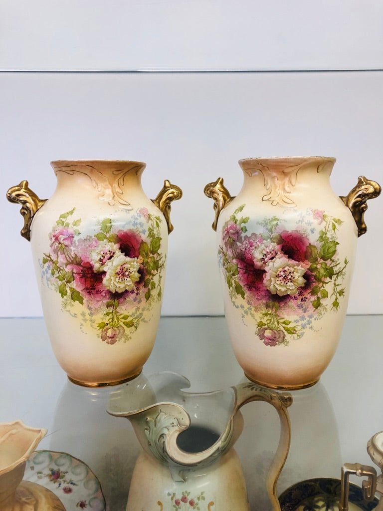 Pair of Royal Devon vases