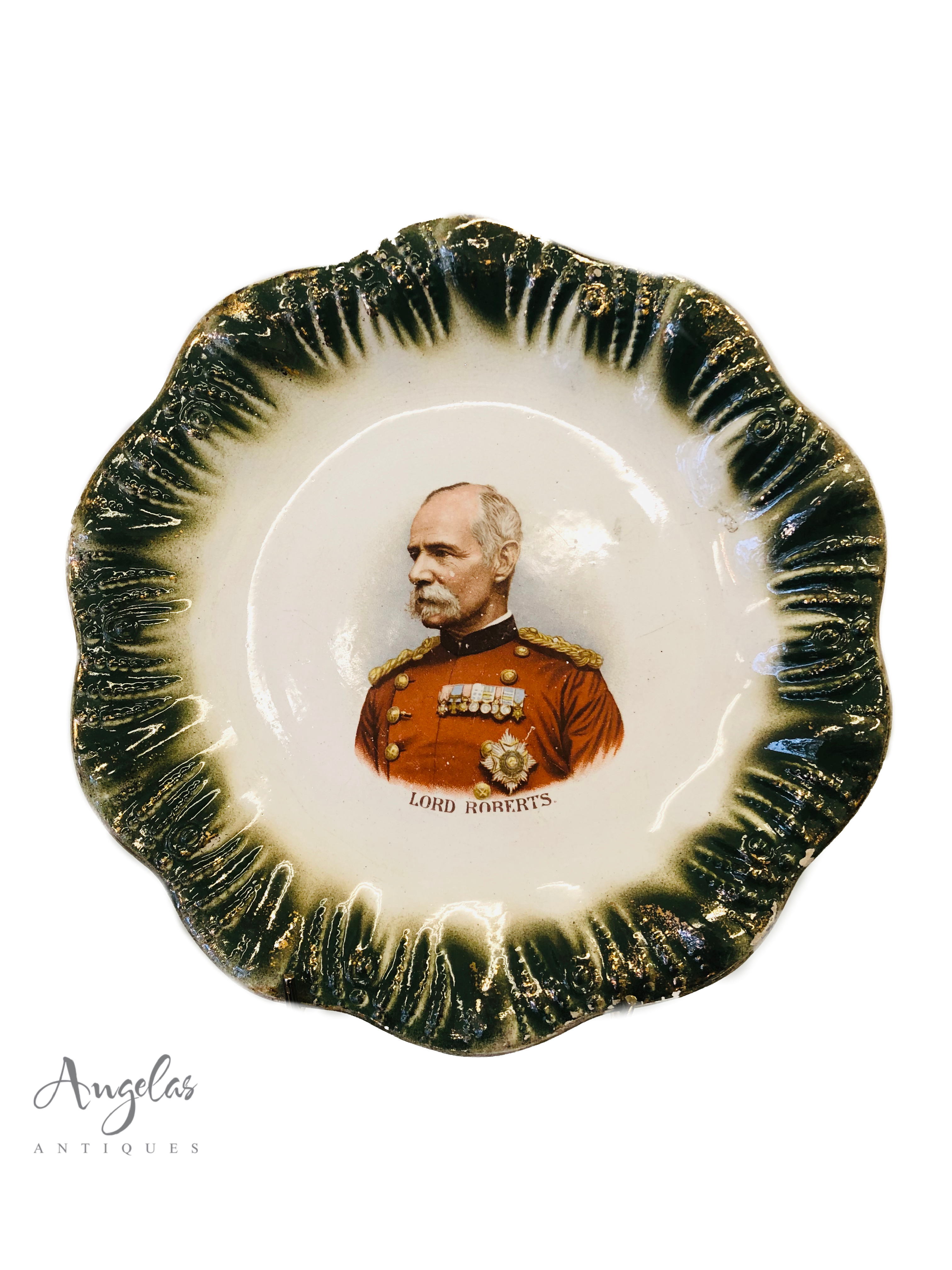 Delph Plate Commemorating Lord Roberts