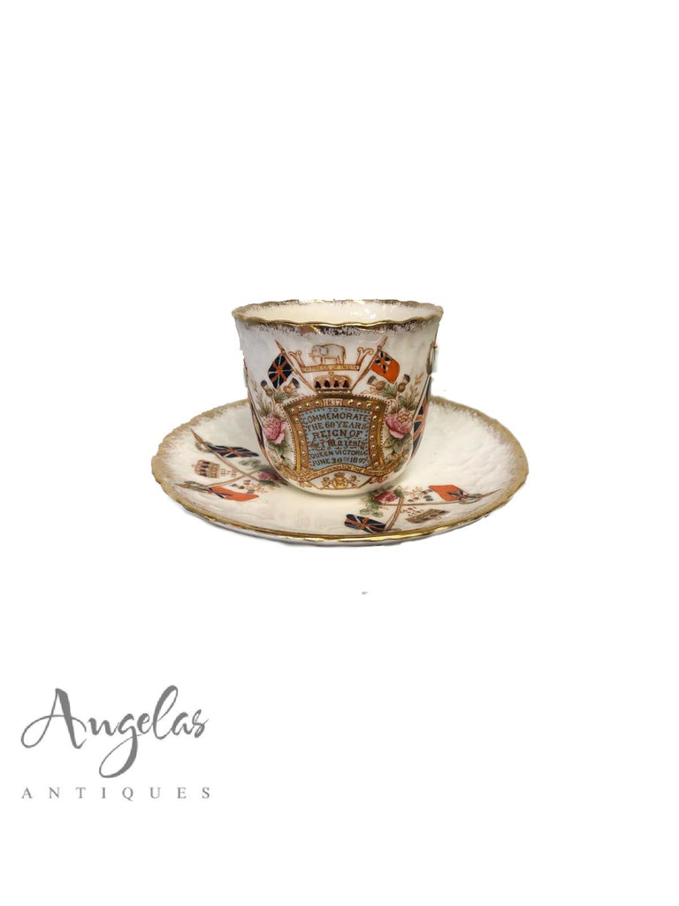 Commerative Cup & Saucer