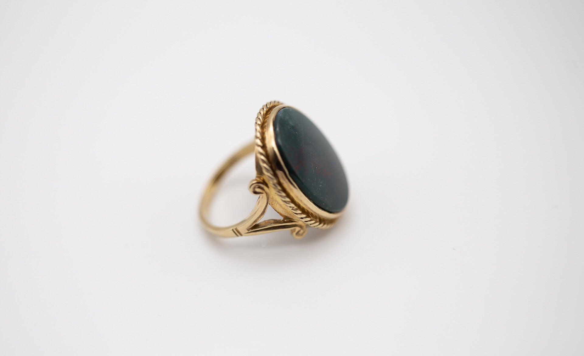 Blood Stone Dress Ring
