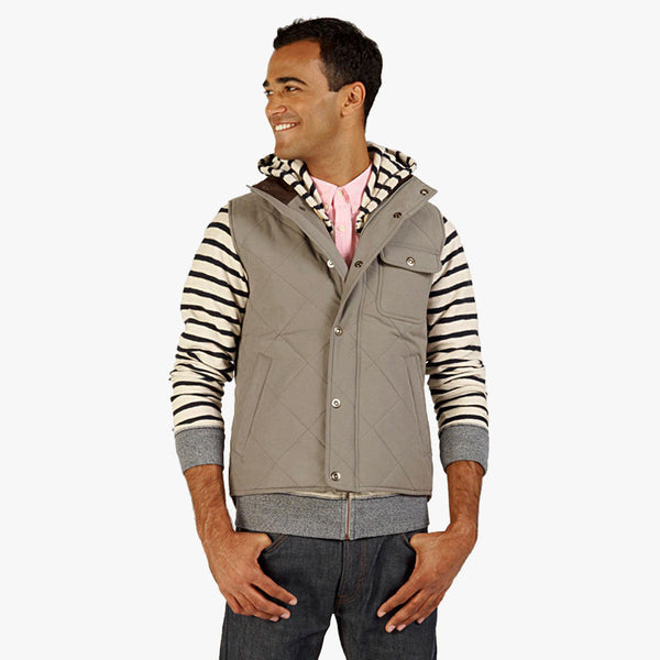Mens Woodward Vest, front view