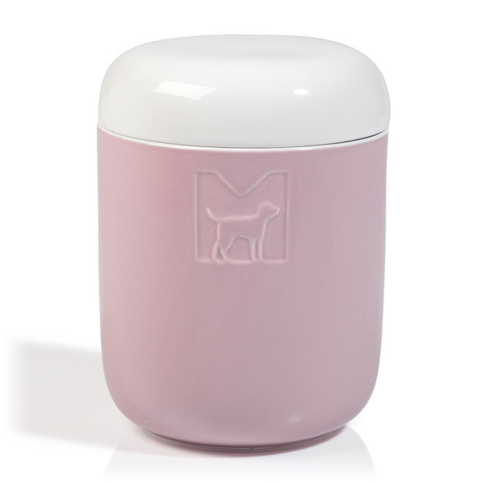 Tondo Ceramic Dog Treat Jar MiaCara