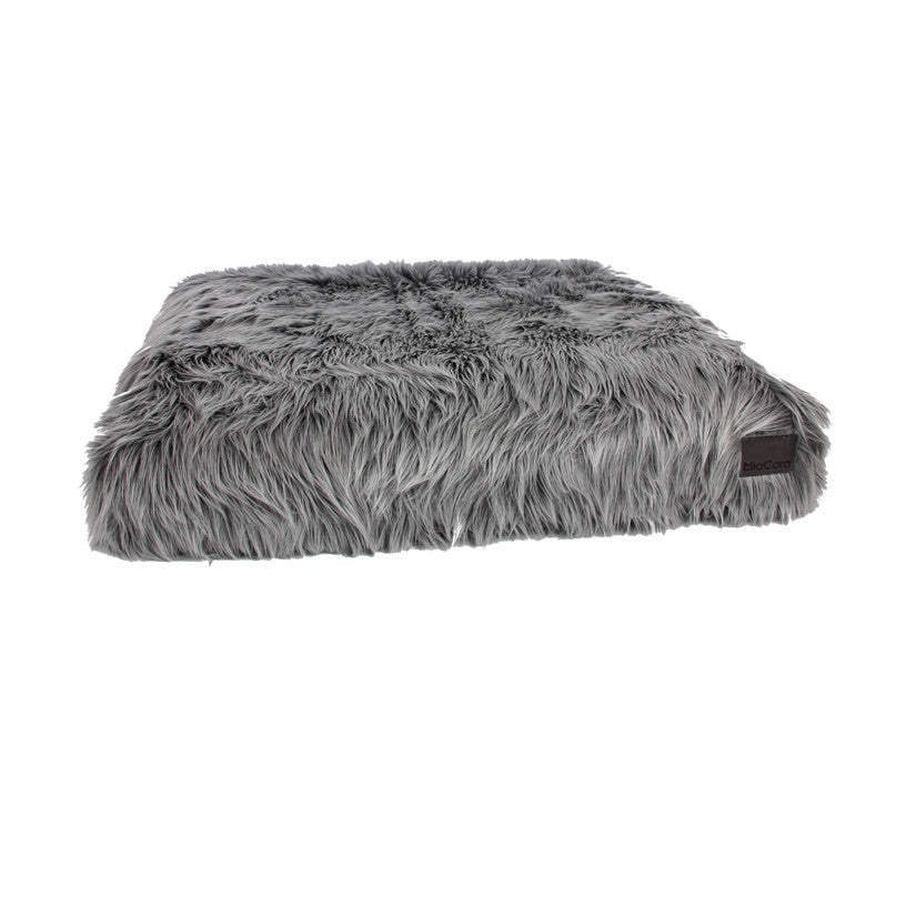 [product _vendor] Capello Faux Fur Dog Bed - STYLETAILS