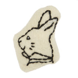 White Rabbit Catnip Cat Toy Cheshire Wain