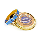[product _vendor] Royal Caviar Leather Cat Collar - STYLETAILS