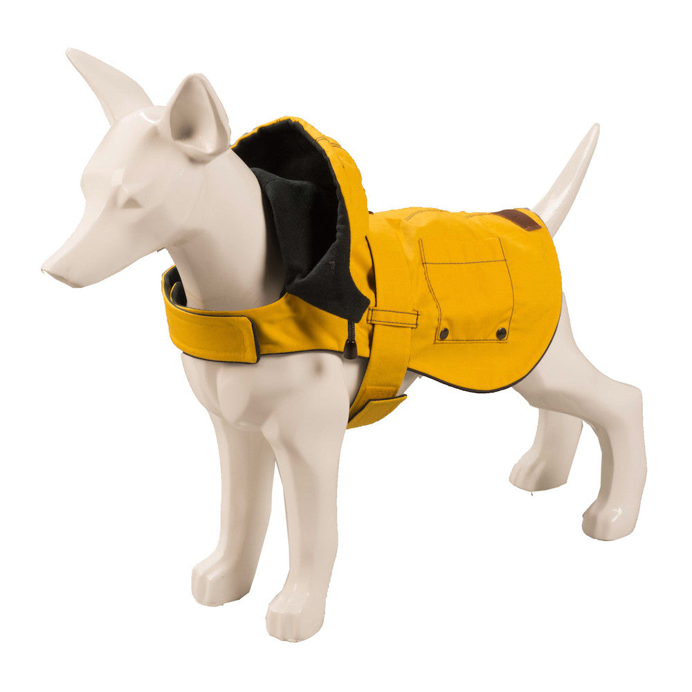 [product _vendor] Hampstead Hooded Dog Coat - STYLETAILS