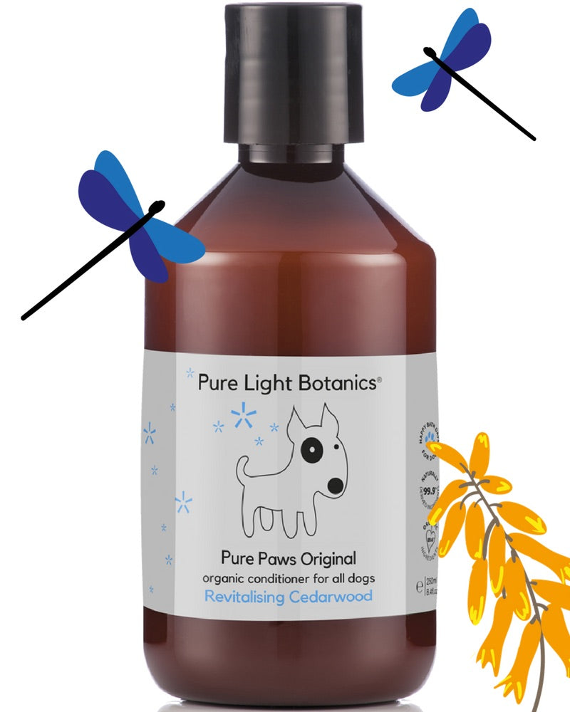 [product _vendor] Original Organic Dog Conditioner with Cedarwood - STYLETAILS