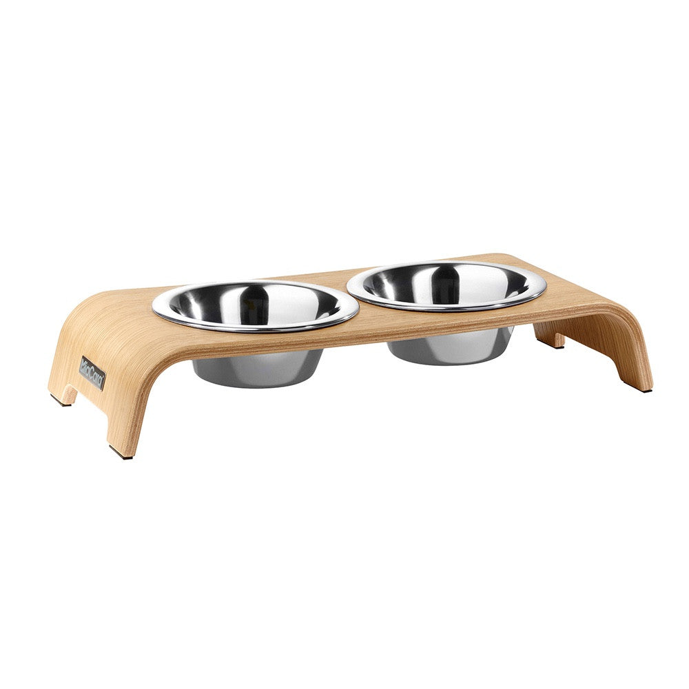 [product _vendor] dogBar Raised Double Dog Feeder - STYLETAILS