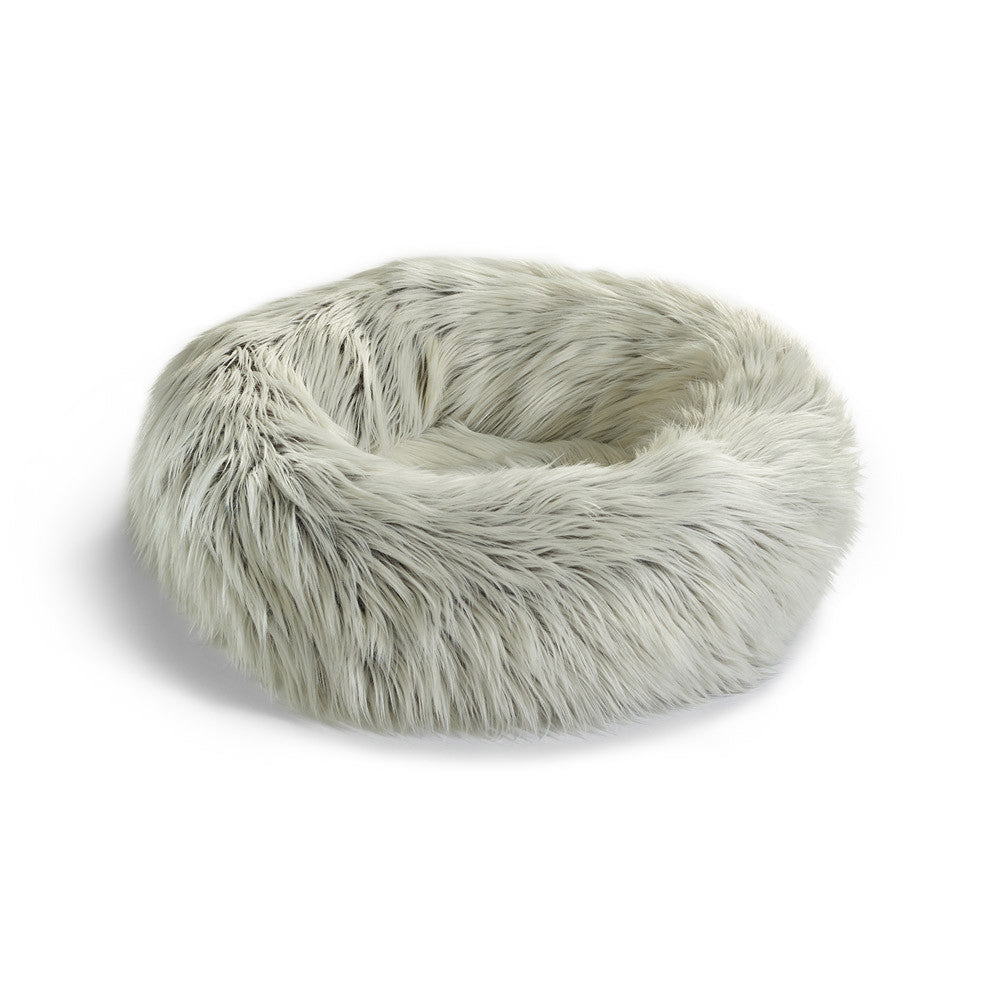 [product _vendor] Capello Faux Fur Cat Bed - STYLETAILS