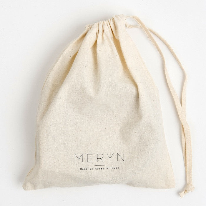 meryn collar cotton bag