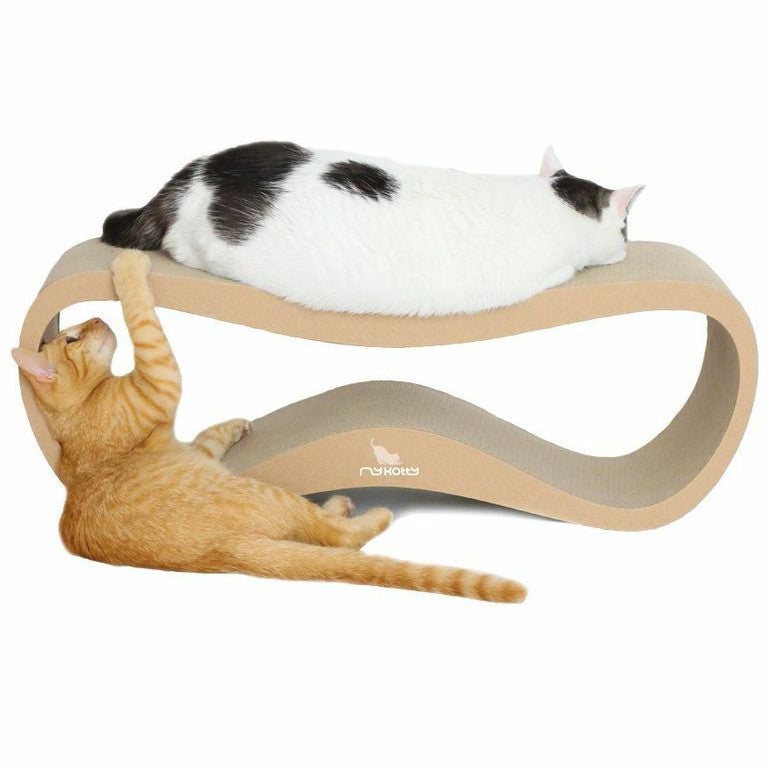 LUI cardboard cat scratcher my kotty
