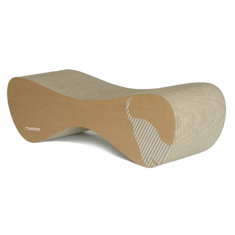[product _vendor] VIGO Cardboard Cat Scratcher Lounge - Natural - STYLETAILS