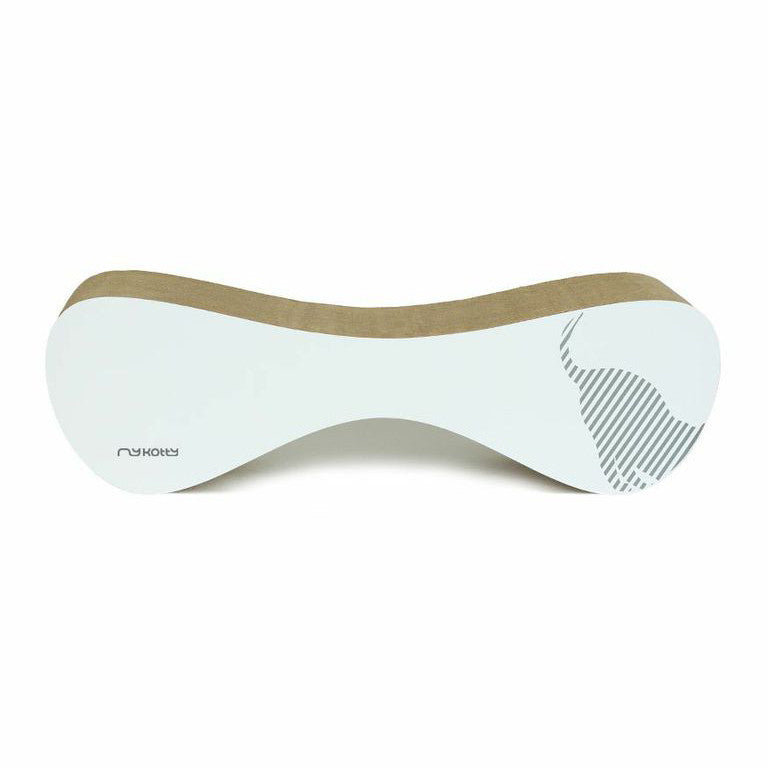 [product _vendor] VIGO Cardboard Cat Scratcher Lounge - White - STYLETAILS