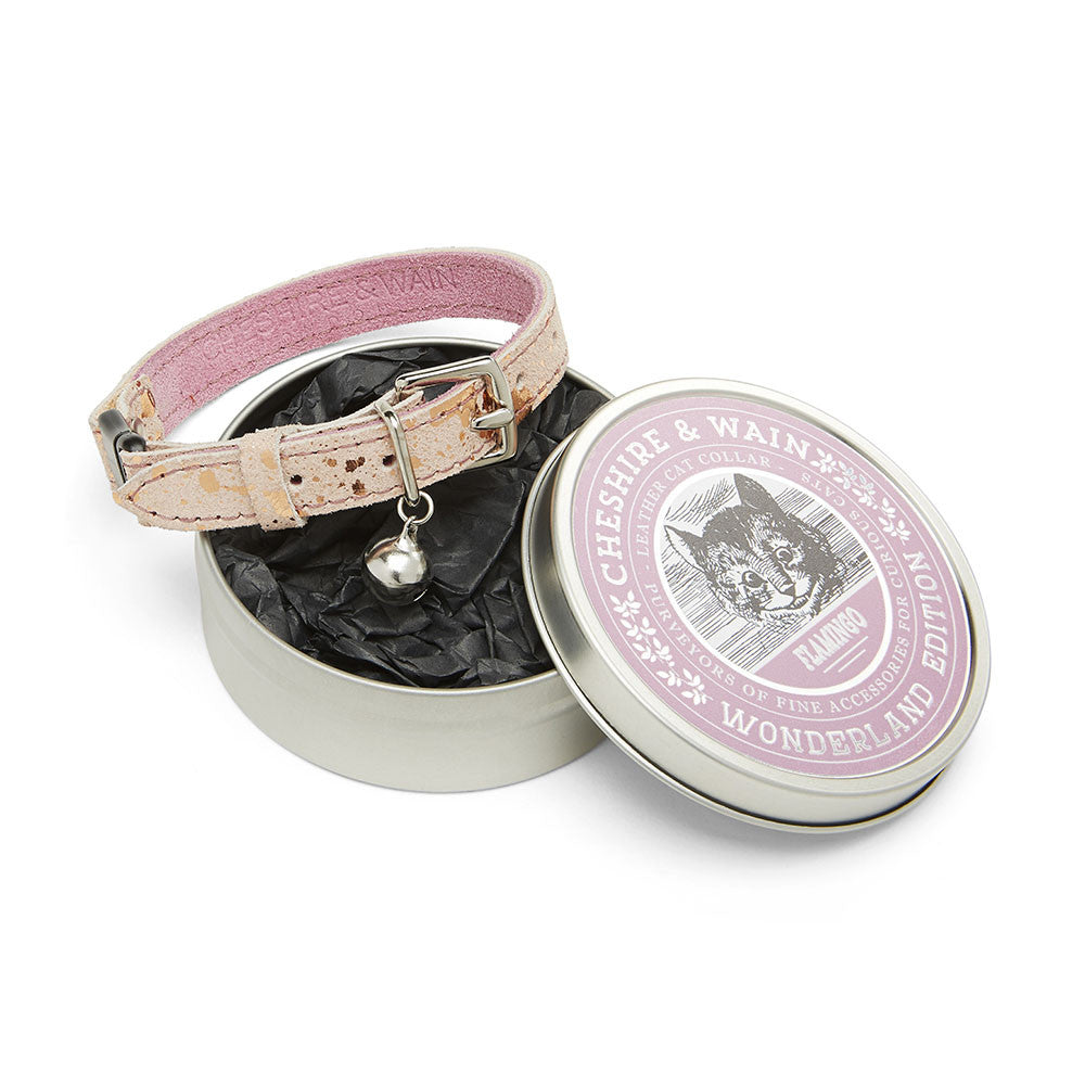 [product _vendor] Flamingo Pink Cat Collar - STYLETAILS