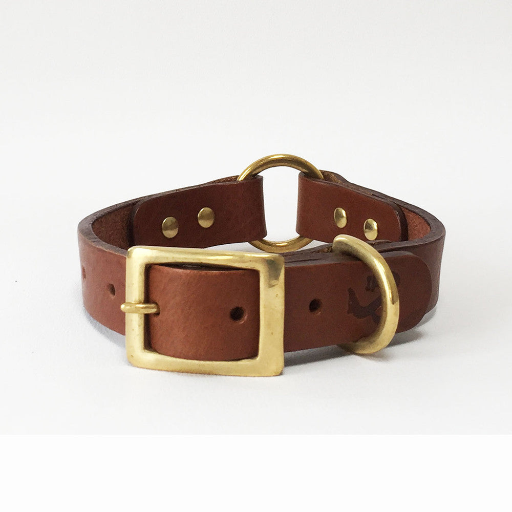[product _vendor] Leather Dog Collar - STYLETAILS