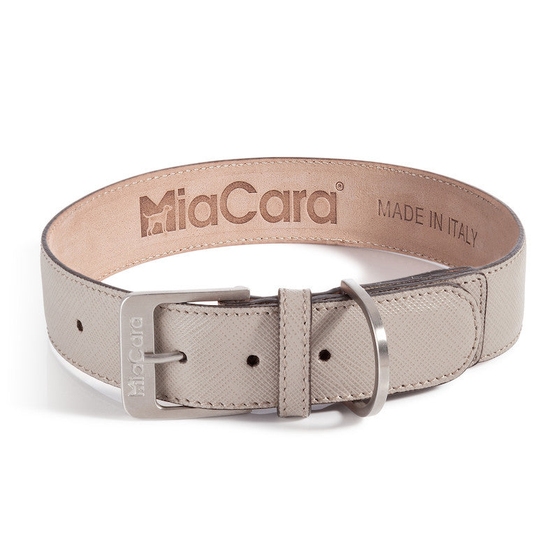 Torino Leather Dog Collar MiaCara