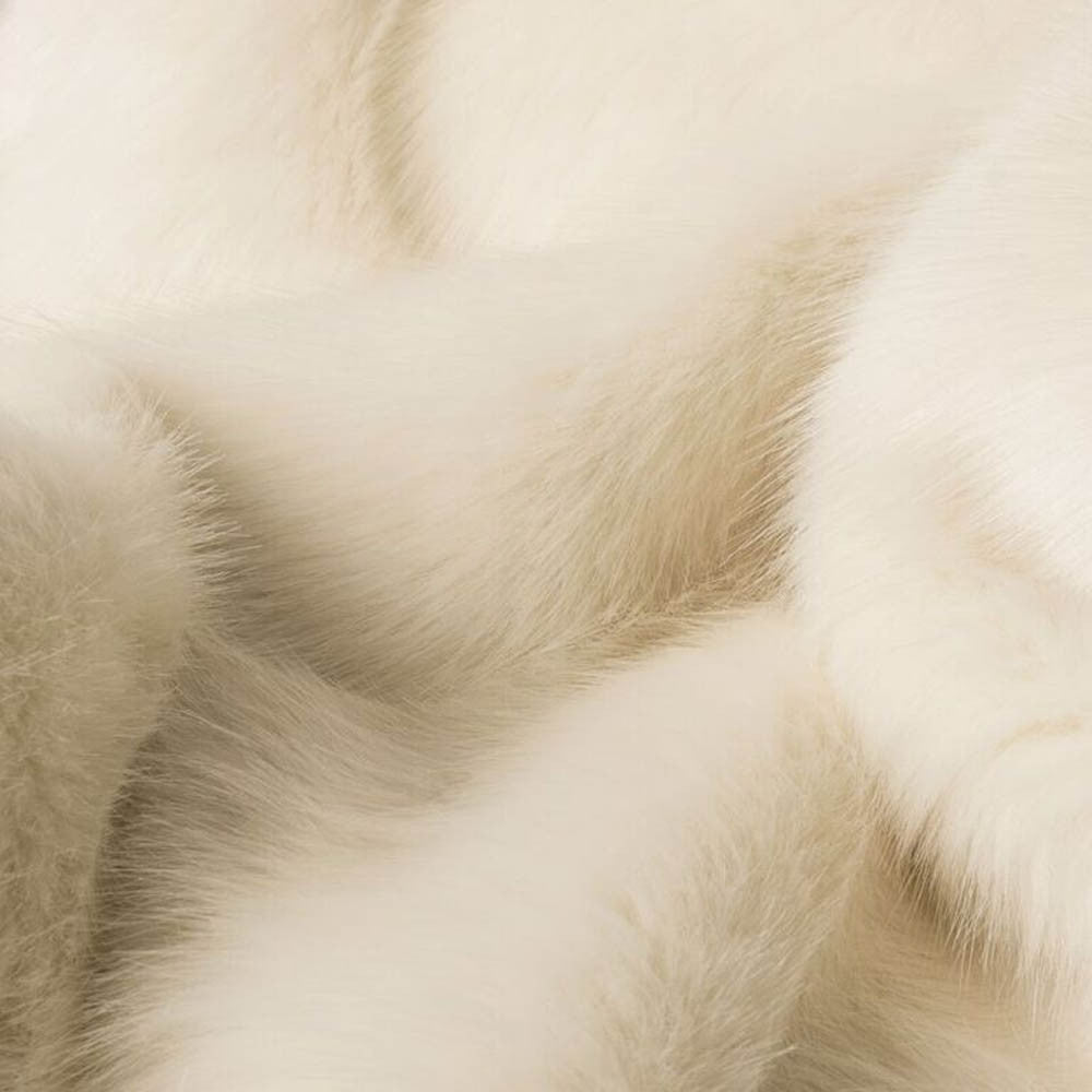Polar Bear Faux Fur Dog Blanket by Charley Chau