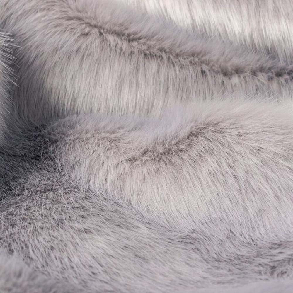 [product _vendor] Lilac Rabbit Faux Fur Dog Blanket - STYLETAILS