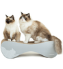 [product _vendor] VIGO Cardboard Cat Scratcher Lounge - Grey - STYLETAILS