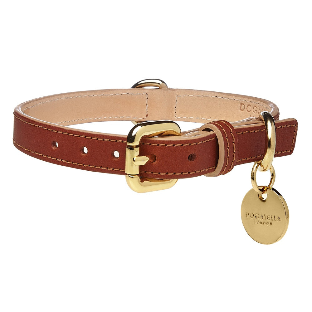 Classic Leather Dog Collar Dogatella