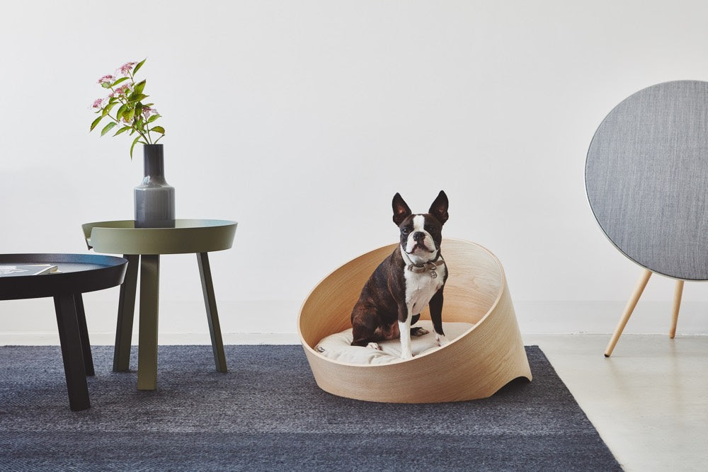[product _vendor] Covo Dog Bed - Ash - STYLETAILS