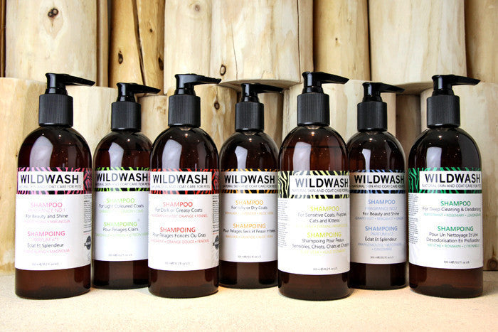 Natural Dog Shampoo light coat gentle wildwash