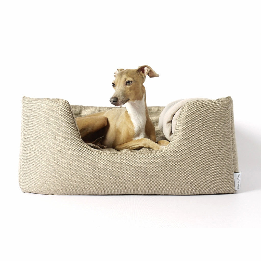 [product _vendor] Deeply Dishy Dog Bed - Weave - STYLETAILS