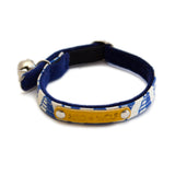 Geo Blue Cat Collar Hiro Wolf