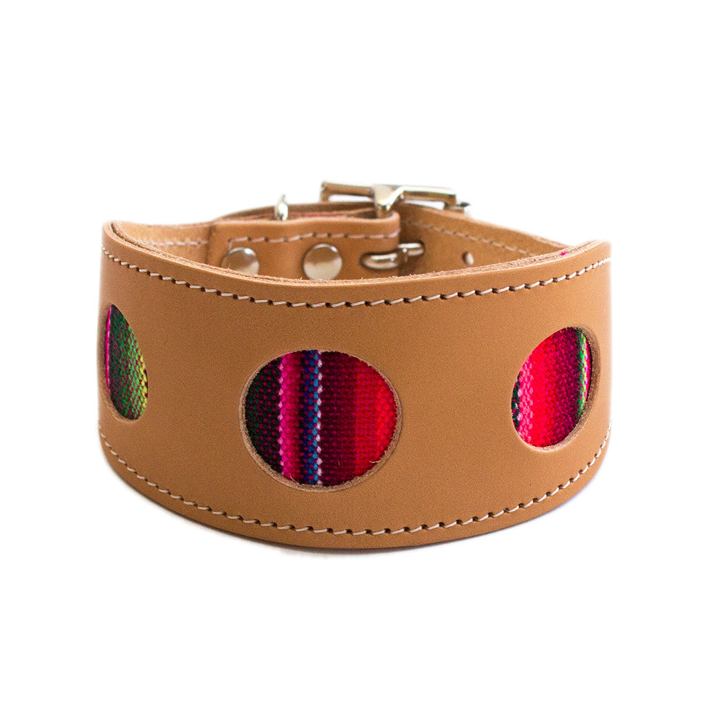 [product _vendor] Pink Inca Hound Collar - STYLETAILS