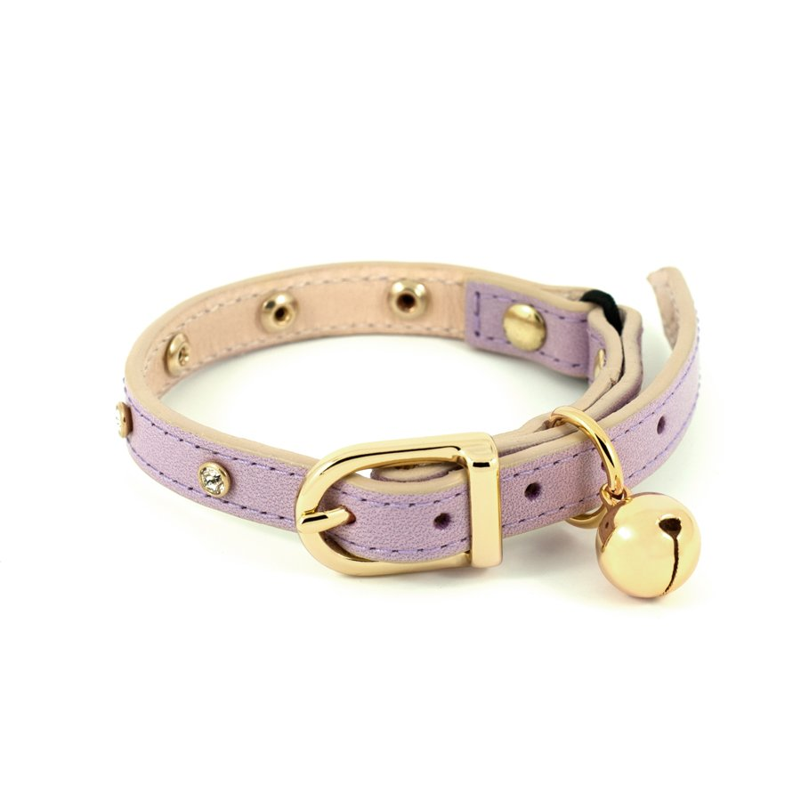 [product _vendor] Crystal Cat Collar - Lilac - STYLETAILS