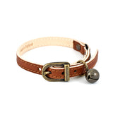 Tan Leather Collar Collar - Linny