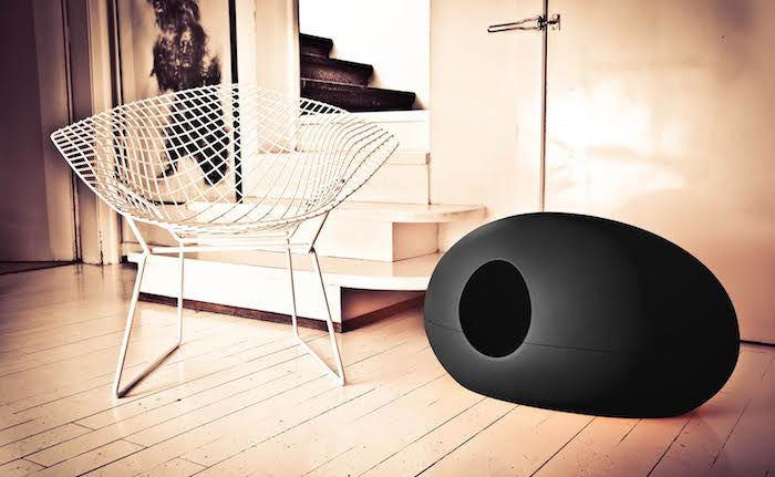 [product _vendor] Poopoopeedo Cat Litter Box - Black - STYLETAILS