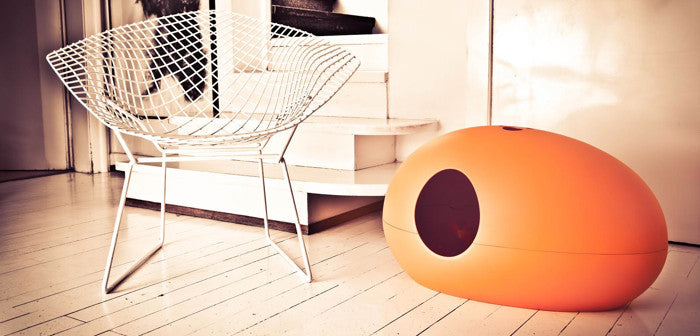[product _vendor] Poopoopeedo Cat Litter Box - Orange - STYLETAILS