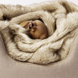 [product _vendor] Faux Fur Dog Blanket - Oatmeal - STYLETAILS